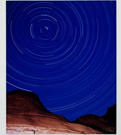 """Lake Powell Star Circles- North Star,"" Photograph signed by Robert Kawika Sheer"