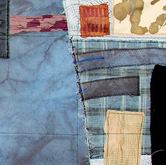 """Minutiae II,"" a Fiber Collage Mixed Media signed by Jeanne Smith"