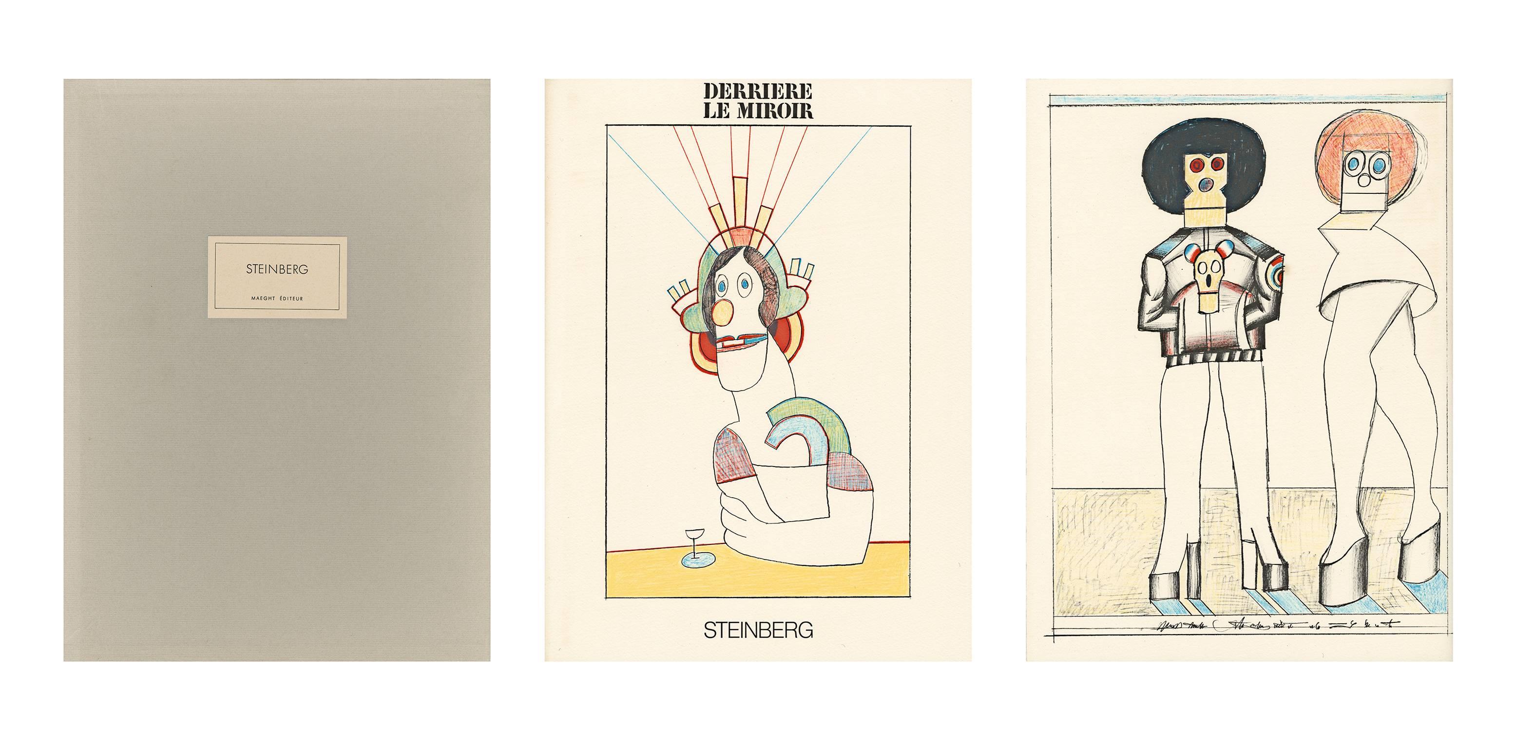Saul Steinberg Art - 11 For Sale at 1stdibs