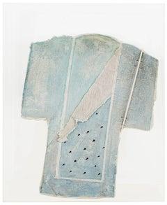 """""""Blue Robe, Purple Tears II,"""" Porcelain by Marjorie Mau"""