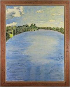 """""""Summer Whisper,"""" Oil on Wood signed by Robert Richter"""