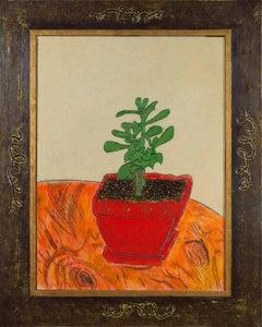 """Little Jade,"" Oil on Wood signed by Robert Richter"