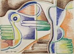 Art Deco Bird #688