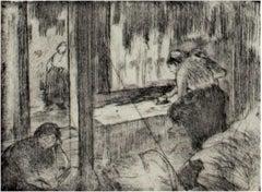 Les Blanchisseuses (Le Repassage)-The Laundresses