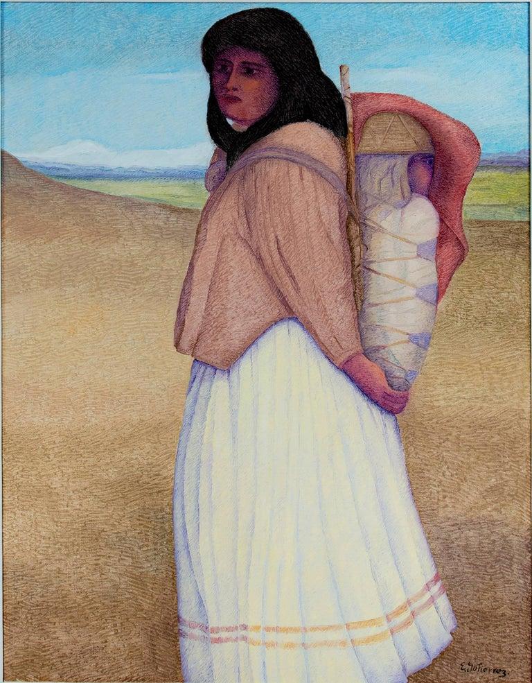 Apache Mother & Child