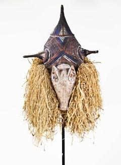 Yaka Ceremonial Mask--Zaire
