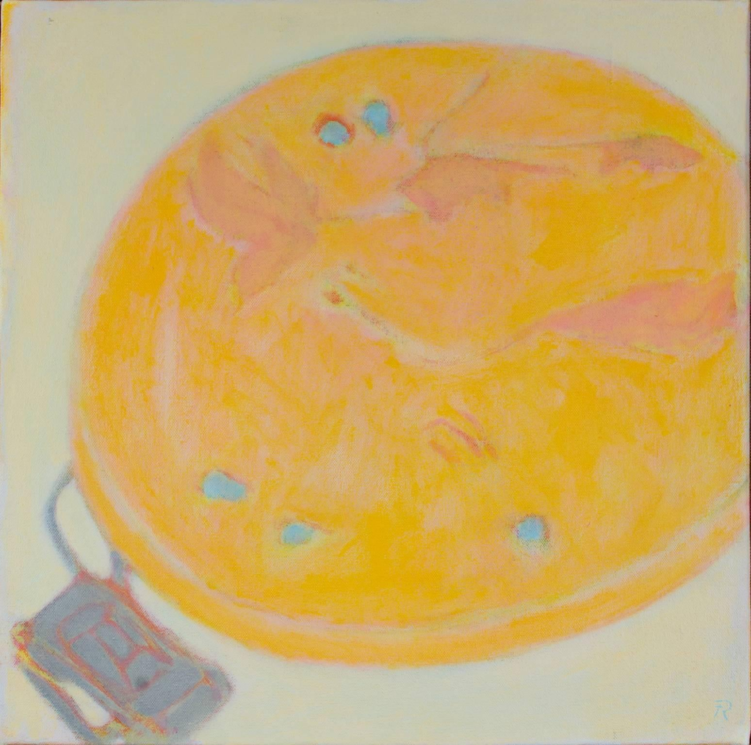 """""""Pete's Plate,"""" Alkyd on Canvas by Fred Reichman"""
