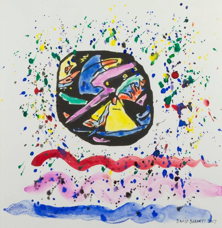 """Famous Artist Series: Homage to Wassily Kandinsky after 1911 """"Improvisation 22"""""""