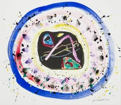 """Colorful Meadow"" Mixed Media Homage for Kandinsky signed by David Barnett"
