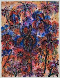 Sunlit Tropical Orchids I