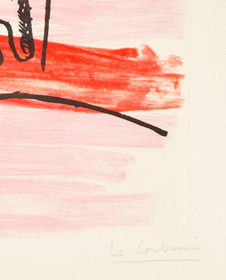 The Catch (Les Mains du Pecheur) - Print by Le Corbusier