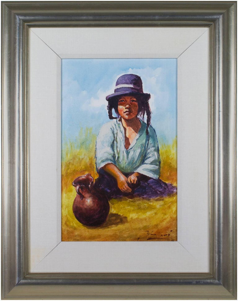 Nina Ponema Puno (Young Girl from Puno) For Sale 2