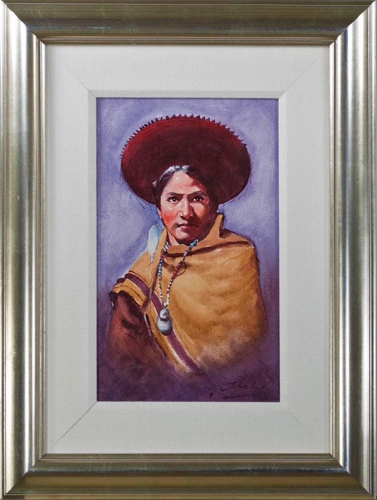 Vestido de la Region (Regional Costume) - Cuzco For Sale 1