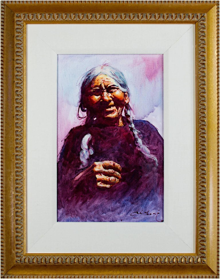 Vieja del Sitio (Old Woman) - Cuzco For Sale 2