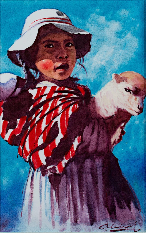 Nina Pastora (Shepherd Girl) - Puno