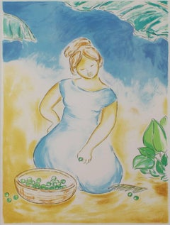 Untitled (Woman With Basket of Grapes)