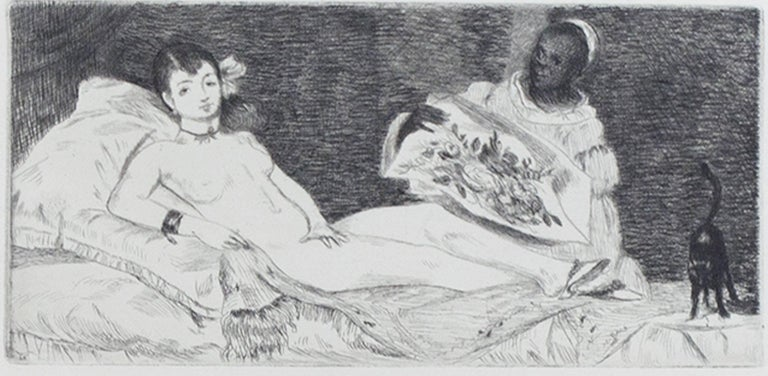 Edouard Manet Figurative Print - Olympia - Sixth and Final State