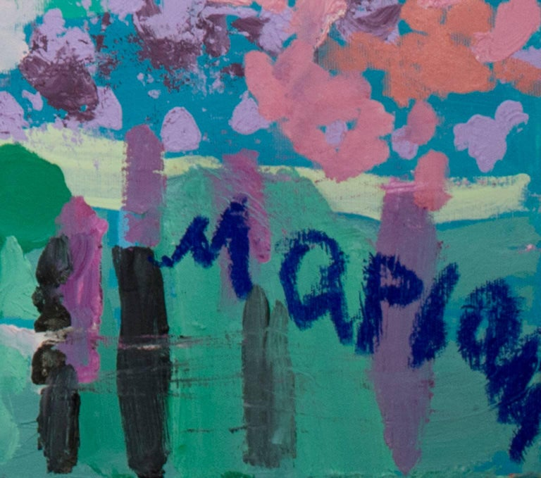 Humeur de Printemps (Spring Mood) - Painting by Maryam Alakbarli