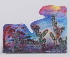 """Southwest Series: Paper Clip Cactus Artist's Palette,"" by David Barnett"