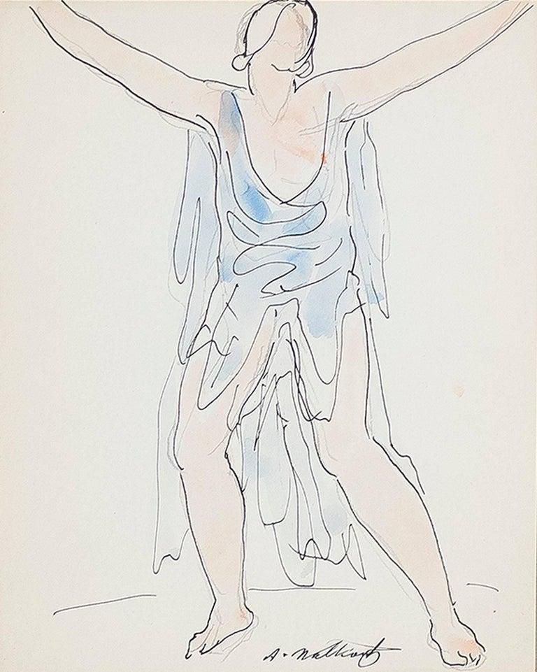 Isadora Duncan (Blue)