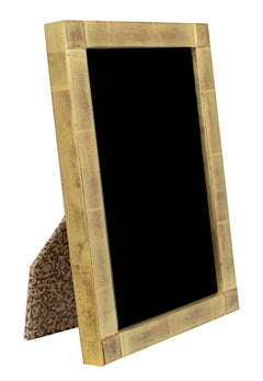 """""""22k Gold Leaf Handmade Photo Frame,"""" Wood 4 x 6 in from Romania"""