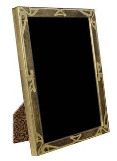 """""""Handmade 22K Gold Leaf Photo Frame,"""" Wood 5 x 7 in Frame created in Romania"""