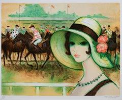 Un Parisienne a Longchamp