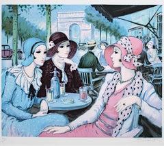 Terasse aux Champs Elysees
