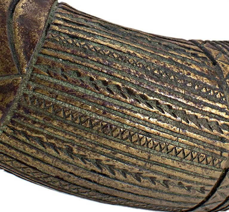 Bronze Anklet--Benin Kingdom, Nigeria For Sale 2