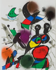 Original Lithograph II, from Miro Lithographs III, Maeght Publisher