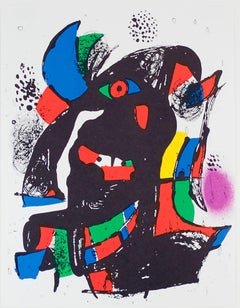 Lithographie Originale II, from Miro Lithographs IV, Maeght Publisher