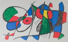 Original Lithograph VIII, from Miro Lithographs II, Maeght Publisher