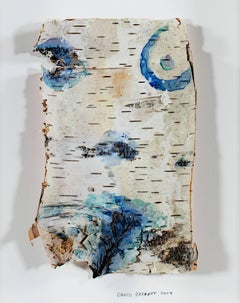 """Up North Birch Bark Series: Homage to Michelangelo Birch Bark Body"""