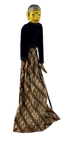 Indonesian Golek Puppet (Male)