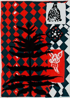 """Christmas Traditions 30119,"" silkscreen by Ruth Grotenrath"