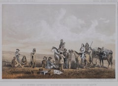 """Lieutenant Crovers Despatch - Return of Governor Stevens to Fort Benton"""