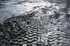 """""""Tracks,"""" Oil on Linen signed by Leslie Parke"""