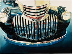 """Chevrolet Grille (Car),"" Watercolor by Bruce McCombs"