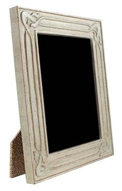 Handmade 12K White Gold Photo Frame