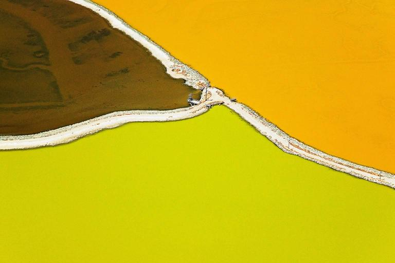 Colin McRae Abstract Photograph - Lime Orange