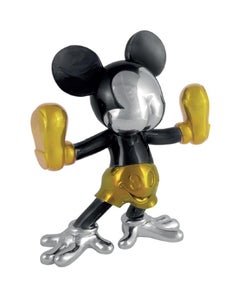Freaky Mouse (small) - Polished Multi-Colored Chrome