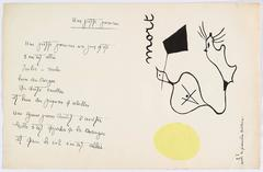 """Il était une petite pie"" (There Was a Little Magpie) - Sheet II"