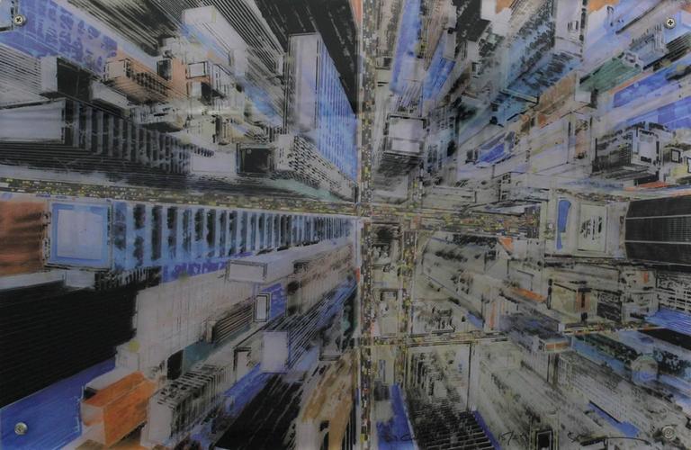 Gottfried Salzmann Manhattan Crossroad 3d Construction