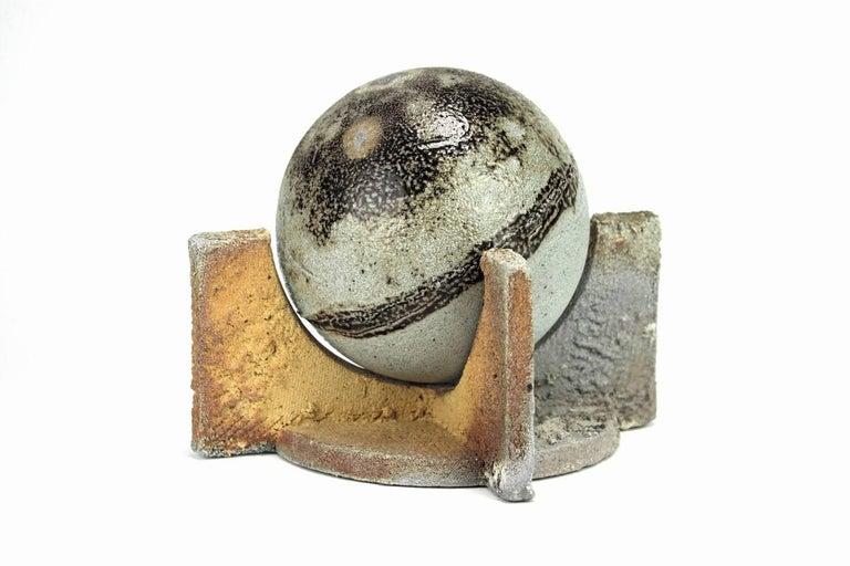 Brady McLearen Abstract Sculpture - Sphere and Cradle