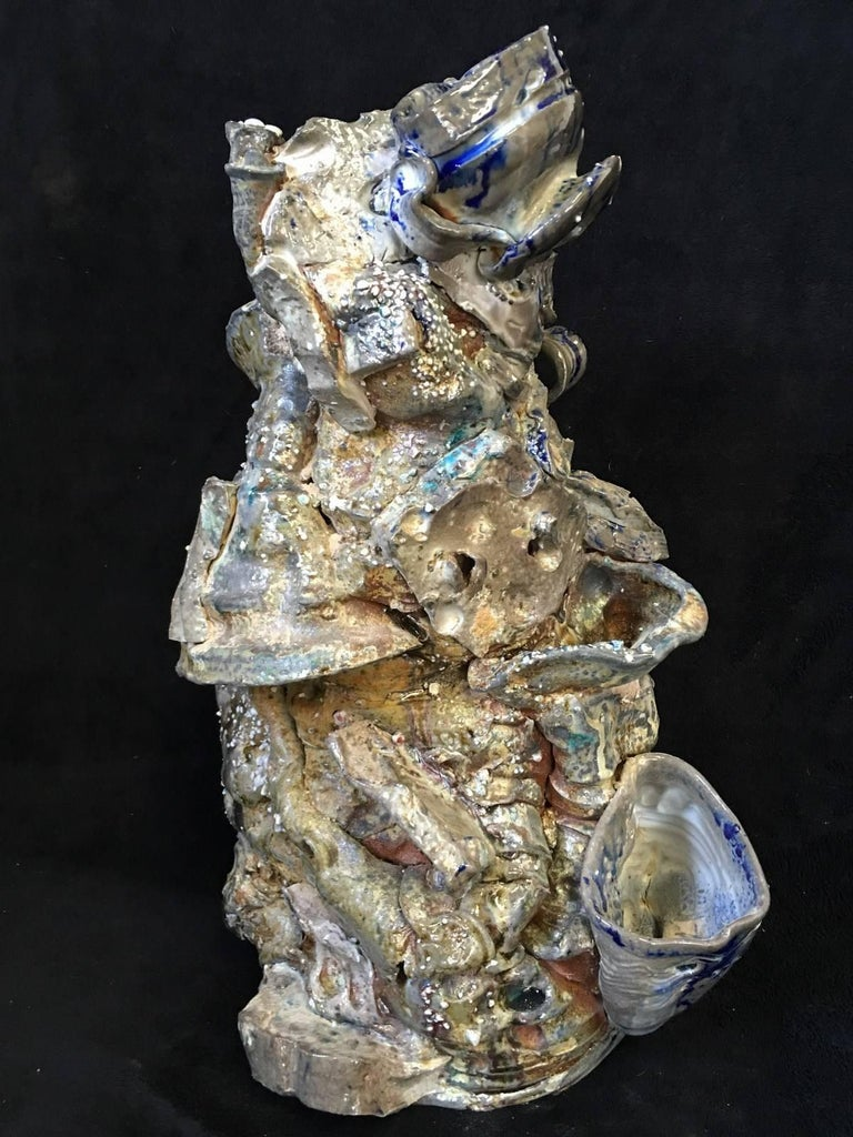 Intergalactic Vessel Series - Mixed Media Art by Jeff Whyman