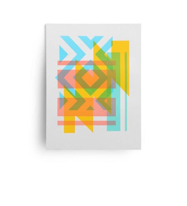 Travis Porter Print - Yellow Flash
