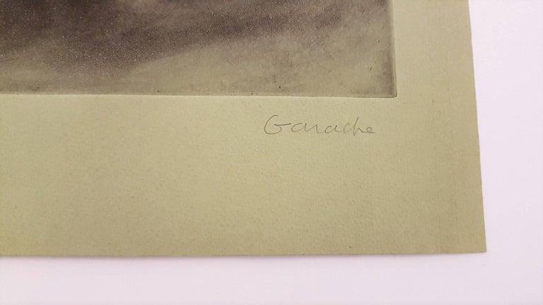 Hockender Akt - Print by Claude Garache