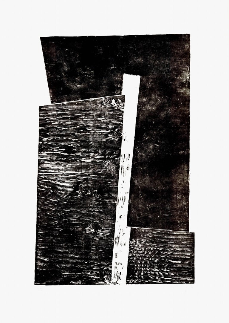 Claudia Busching Abstract Print - Abstract, Geometric Composition