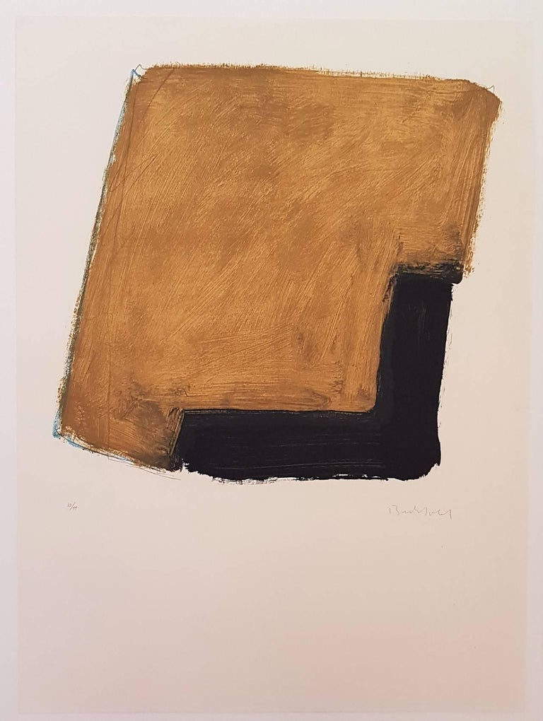 Erwin Bechtold Abstract Print - Abstract Composition