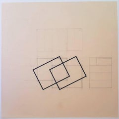 Untitled (Geometric Construction Drawing)